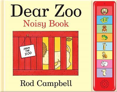 Dear Zoo Noisy Book (Hardback)