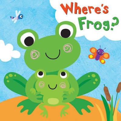 Squeaky Bath Books: Where's Frog? (Bath book)