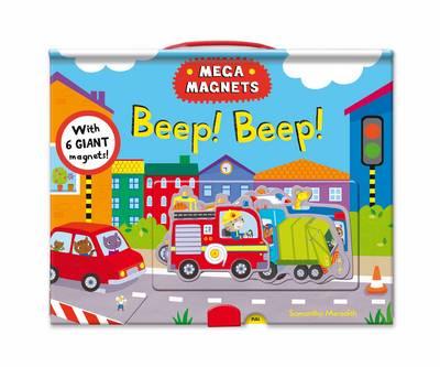 Mega Magnets: Beep, Beep! (Hardback)