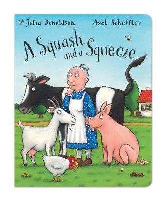 A Squash and a Squeeze (Board book)
