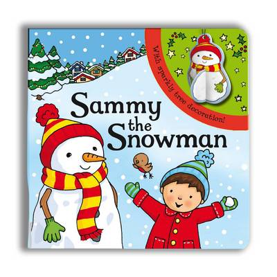 Sparkly Christmas: Sammy the Snowman! (Board book)