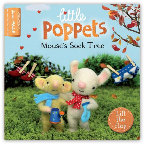 Little Poppets: Mouse's Sock Tree: A lift-the-flap first story (Board book)