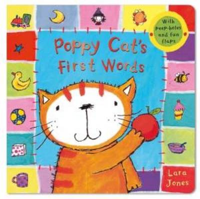Poppy Cat's First Words (Board book)