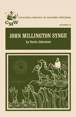 John Millington Synge (Paperback)
