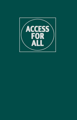 Access for All: Transportation and Urban Growth (Hardback)
