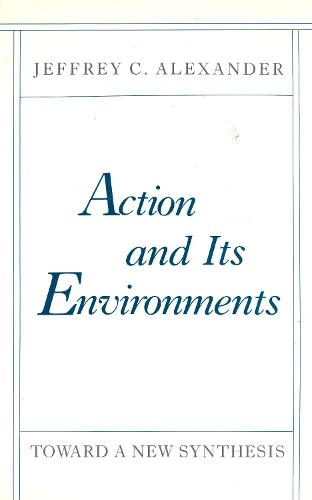 Action and Its Environments: Toward a New Synthesis (Hardback)
