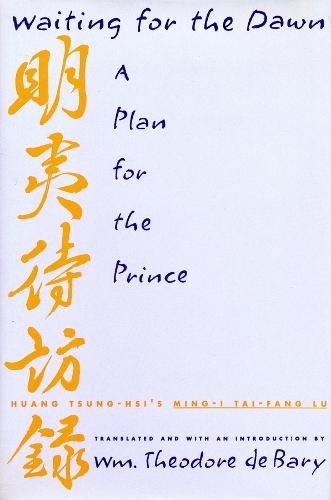 Waiting for the Dawn: A Plan for the Prince (Paperback)
