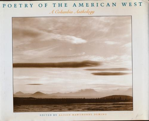 Poetry of the American West (Paperback)