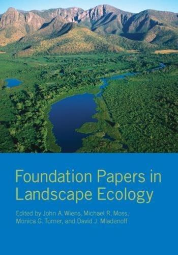 Foundation Papers in Landscape Ecology (Hardback)