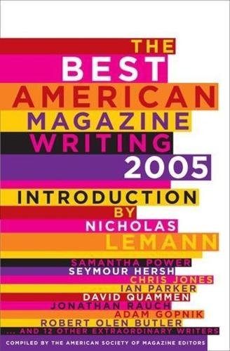 The Best American Magazine Writing 2005 (Paperback)