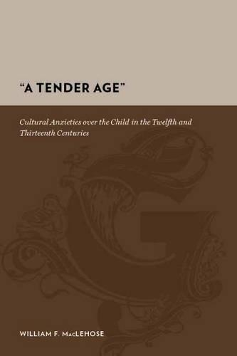 A Tender Age: Cultural Anxieties over the Child in the Twelfth and Thirteenth Centuries - Gutenberg-e (Hardback)