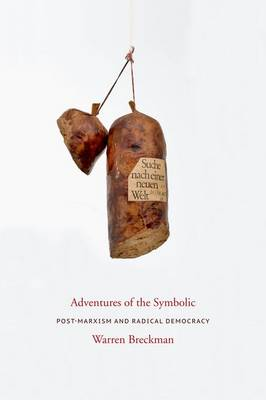 Adventures of the Symbolic: Post-Marxism and Radical Democracy - Columbia Studies in Political Thought / Political History (Hardback)