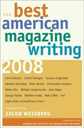 The Best American Magazine Writing 2008 (Paperback)