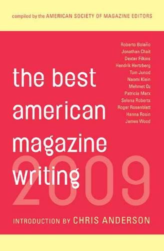 The Best American Magazine Writing 2009 (Paperback)