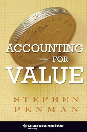 Accounting for Value (Hardback)
