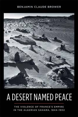 A Desert Named Peace: The Violence of France's Empire in the Algerian Sahara, 1844-1902 - History and Society of the Modern Middle East (Paperback)