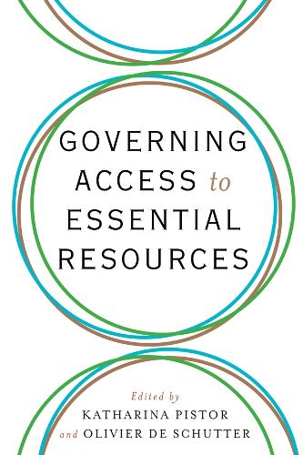 Governing Access to Essential Resources (Hardback)