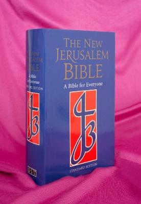 NJB Standard Edition Blue Cloth Bible - New Jerusalem Bible (Hardback)