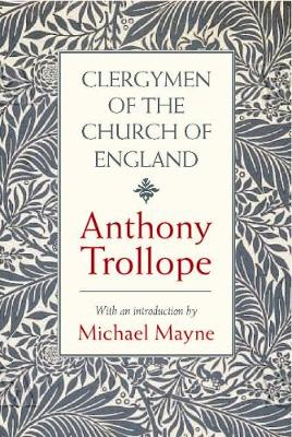Clergymen of the Church of England (Hardback)