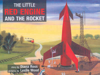 The Little Red Engine and the Rocket (Paperback)