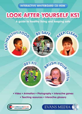 Look After Yourself KS1: CD-ROM & Single User Licence: A Guide to Healthy Living and Keeping Safe - Look After Yourself S.