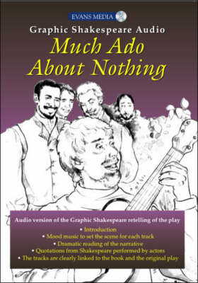Much Ado About Nothing - Graphic Shakespeare Audio Edition (CD-Audio)