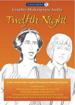 Twelfth Night - Graphic Shakespeare Audio Edition (CD-Audio)