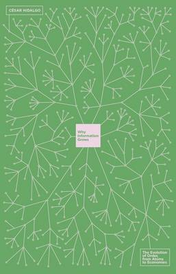 Why Information Grows: The Evolution of Order, from Atoms to Economies (Hardback)