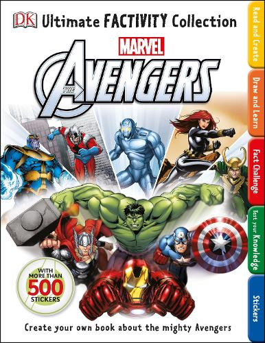 Marvel The Avengers Ultimate Factivity Collection (Paperback)