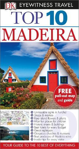 Top 10 Madeira - DK Eyewitness Travel Guide (Paperback)