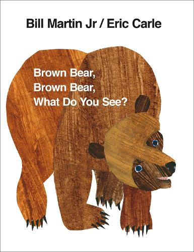 Brown Bear, Brown Bear, What Do You See? (Board book)