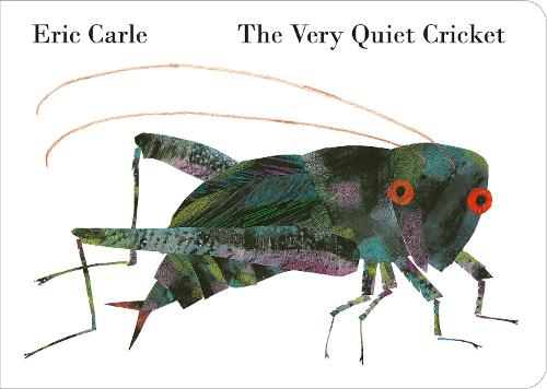 The Very Quiet Cricket (Board book)