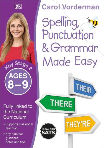 Spelling, Punctuation & Grammar Made Easy, Ages 8-9 (Key Stage 2): Supports the National Curriculum, English Exercise Book - Made Easy Workbooks (Paperback)
