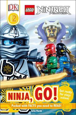 LEGO (R) Ninjago Ninja, Go! - DK Reads Beginning To Read (Hardback)