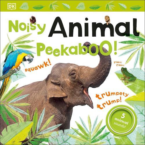 Noisy Animal Peekaboo! - Noisy Peekaboo! (Board book)