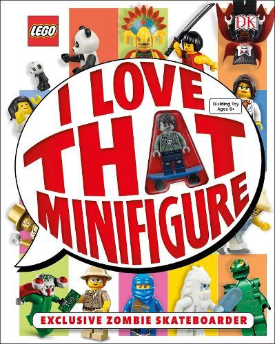 LEGO (R) I Love That Minifigure!: With Minifigure (Hardback)
