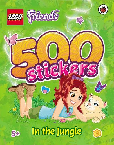LEGO Friends: 500 Stickers: In the Jungle - LEGO Friends (Paperback)