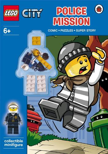 LEGO CITY: Police Mission Activity Book with Minifigure - LEGO City (Paperback)