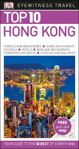 Top 10 Hong Kong - DK Eyewitness Travel Guide (Paperback)