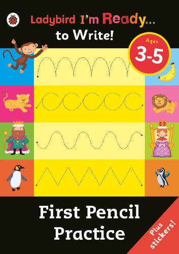 First Pencil Practice: Ladybird I'm Ready to Write Sticker Activity Book (Paperback)
