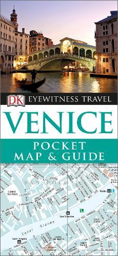 DK Eyewitness Venice Pocket Map and Guide - Pocket Travel Guide (Paperback)