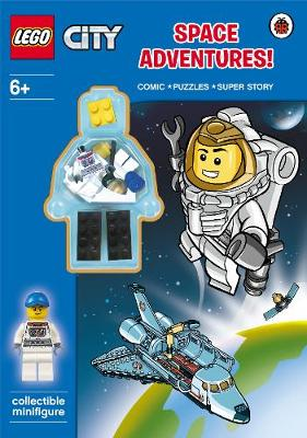 LEGO CITY: Space Adventure Activity Book with Minifigure - LEGO City (Paperback)
