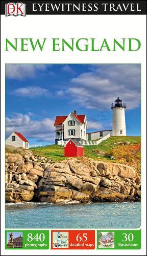 DK Eyewitness Travel Guide New England (Paperback)