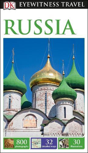 DK Eyewitness Russia - Travel Guide (Paperback)