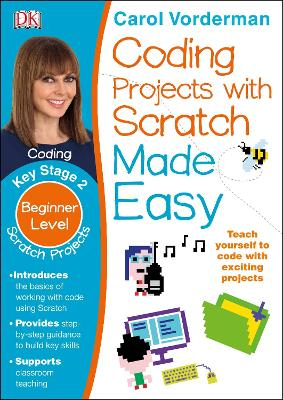 Coding Projects with Scratch Made Easy Ages 8-12 Key Stage 2 - Made Easy Workbooks (Paperback)