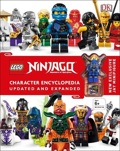 LEGO (R) Ninjago Character Encyclopedia Updated and Expanded: With Minifigure (Hardback)