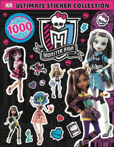 Monster High Ultimate Sticker Collection (Paperback)