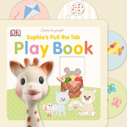 Sophie's Pull the Tab Play Book - Sophie la Girafe (Board book)