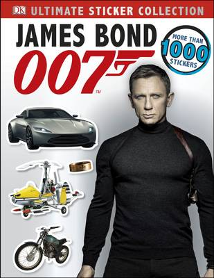 James Bond Ultimate Sticker Collection (Paperback)