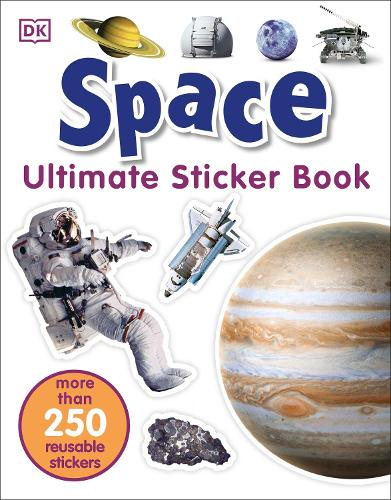 Space Ultimate Sticker Book - Ultimate Sticker Book (Paperback)